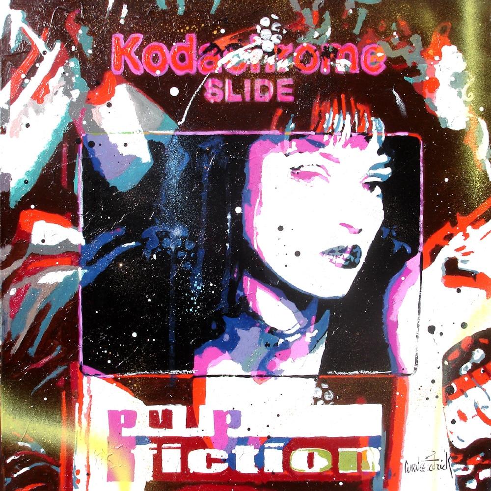 Uma Thurman Slide Pulp Fiction