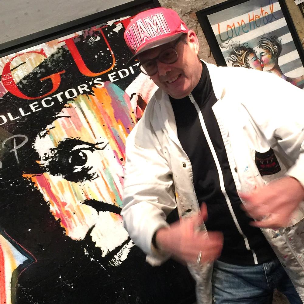 L'artiste Patrick Cornée, oeuvres d'art pop art en ligne