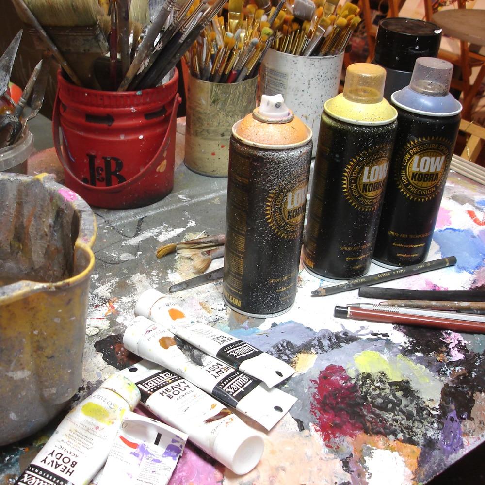 L'atelier Cornee Gallery, artiste peintre pop et street art