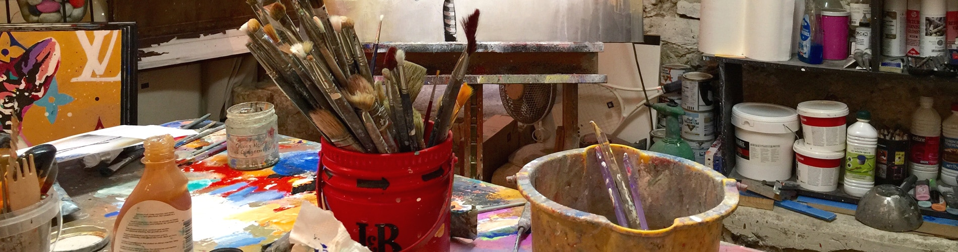 L'atelier Cornee Gallery, galerie d'art en ligne pop art