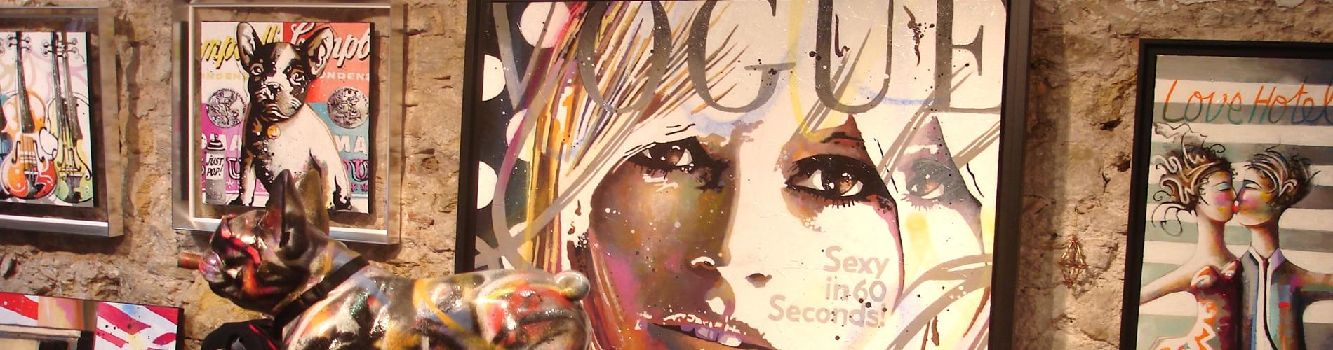 La galerie Cornee Gallery, peintures et tableaux pop art en ligne