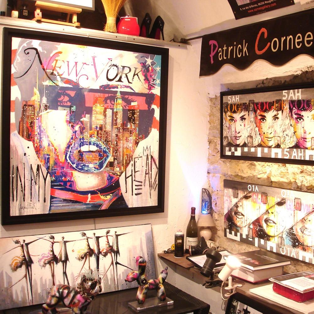 La galerie Cornee Gallery, oeuvres d'art en ligne