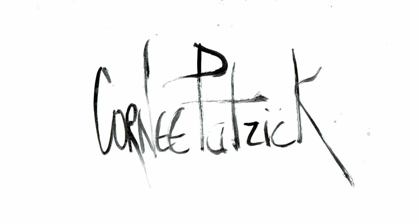 Signature de Patrick Cornée, artiste peintre pop et street art