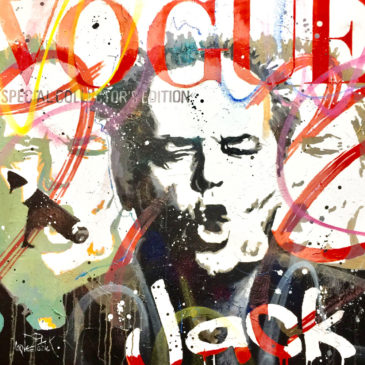 Pop art painting Jack Nicholson