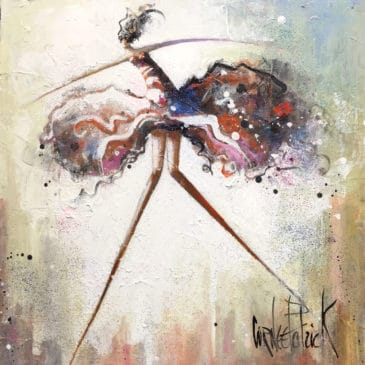 painting dancer