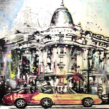 peinture Porsche 911 Carlton Cannes