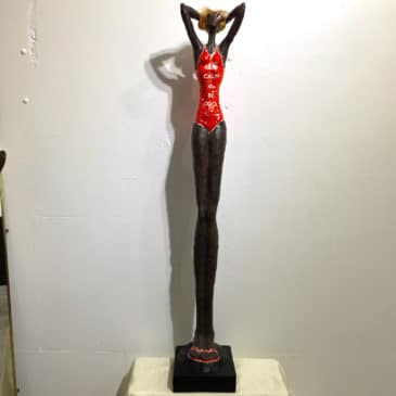 sculpture résine style Giacometti