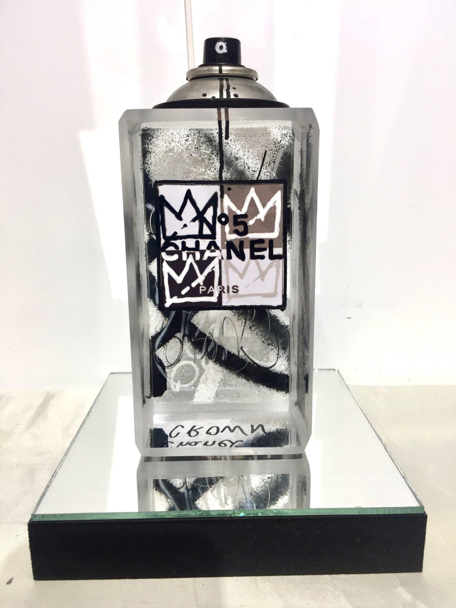 Sculpture flacon Chanel n°5