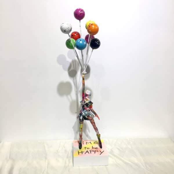 Sculpture originale d'après Banksy