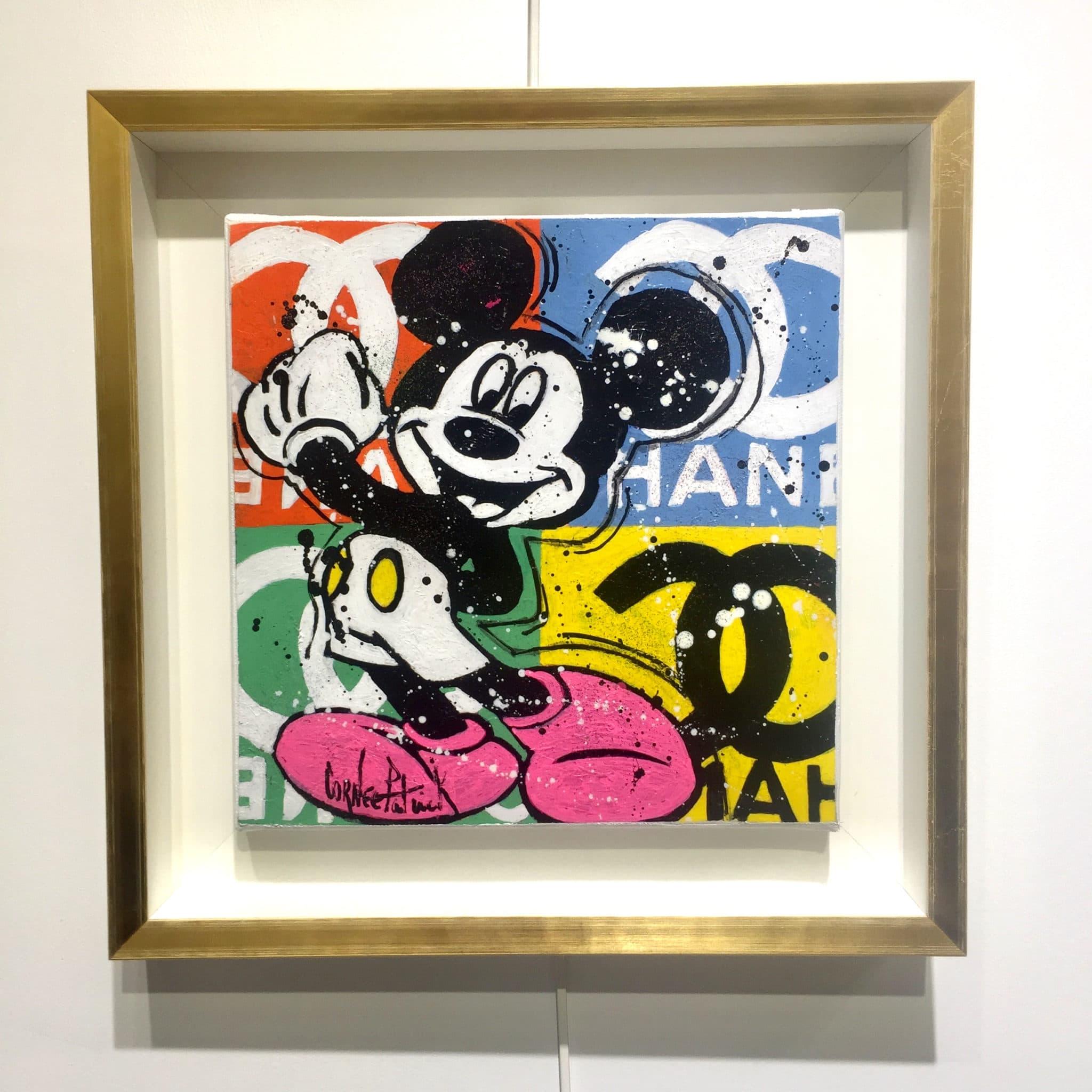 Tableau pop art Mickey